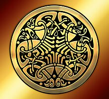 Celtic Throw Pillows by Bluesax