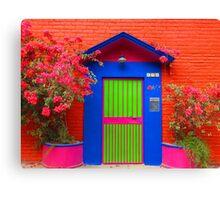 tropical colors II - colores tropicales Canvas Print