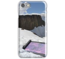 Lava beds of the rockies iPhone Case/Skin