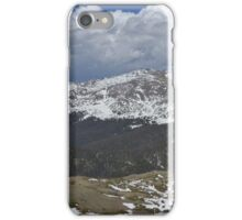 Lava beds and valleys iPhone Case/Skin