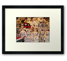 Soft toys Framed Print