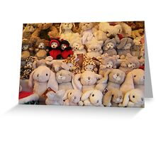 Soft toys Greeting Card