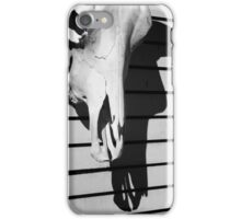 Skull and Shadow iPhone Case/Skin