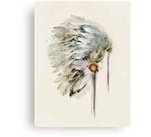 peace headdress Canvas Print