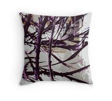 Twigs Throw Cushion Throw Pillow