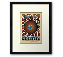 "Are You There? - ""What Was"" Propaganda Framed Print"