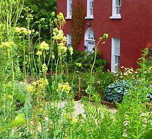 The Front Garden Of Glebe House by Fara