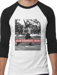 RUN FORREST, RUN! Men's Baseball ¾ T-Shirt