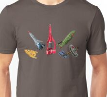"""They Go by the Name They Gave Their Incredible Machines."" Unisex T-Shirt"