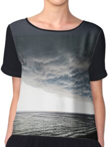 No Fear - Beach Art By Sharon Cummings Chiffon Top