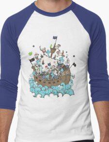 Pirates !! Men's Baseball ¾ T-Shirt