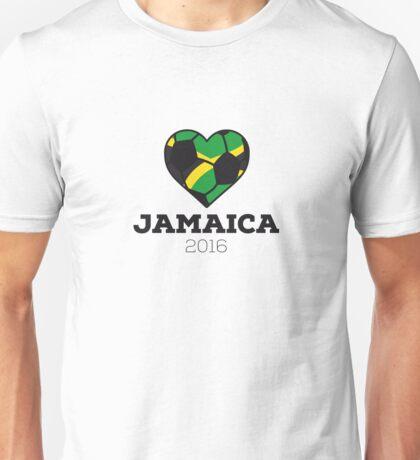 Jamaica Soccer  Unisex T-Shirt