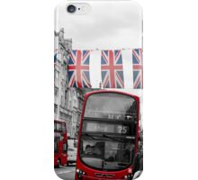 Oxford Street Flags iPhone Case/Skin