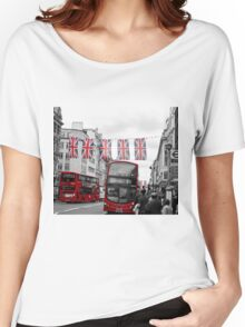 Oxford Street Flags Women's Relaxed Fit T-Shirt