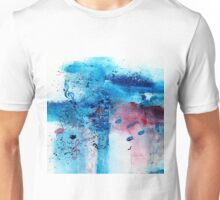 Abstract Acrylic Painting Music Notes II Unisex T-Shirt