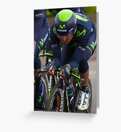 Giro d'Italia - Belfast 2014 Greeting Card