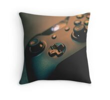 XBOX One Controller Top View Throw Pillow