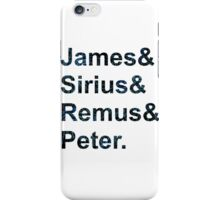 The Maurauders  iPhone Case/Skin