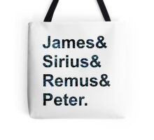 The Maurauders  Tote Bag