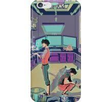 Magic&Flowers-00QAD iPhone Case/Skin