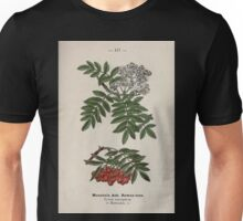 Wayside and woodland blossoms a pocket guide to British wild flowers for the country rambler  by Edward Step 1895 117 Mountain Ash Rowan Tree Unisex T-Shirt
