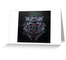 Planet of the Vampire Apes - Alien Greeting Card