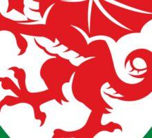 Wales Soccer Logo Sticker