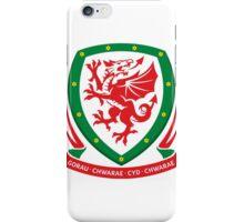 Wales Soccer Logo iPhone Case/Skin