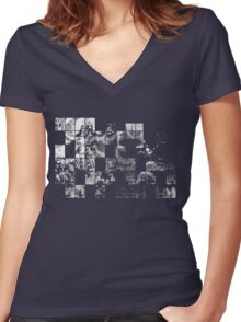 so the story goes... Women's Fitted V-Neck T-Shirt