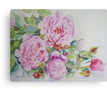 More roses Canvas Print