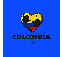 Colombia Soccer Photographic Print