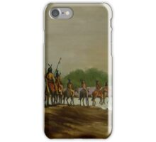 Crossing the Choctawhatchee iPhone Case/Skin