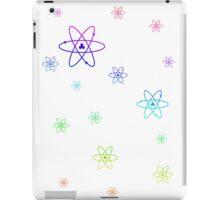 Rainbow Atoms iPad Case/Skin