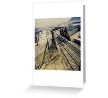 Tracked Greeting Card