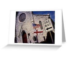 Church works Greeting Card