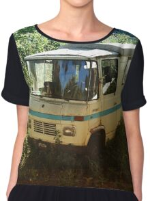 Just Out for a Coffee Break Women's Chiffon Top