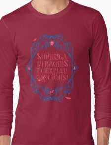 Whimsical Poppins! Long Sleeve T-Shirt