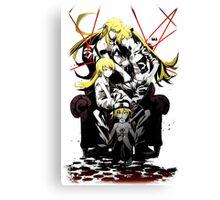 Shinobu Evo x Araragi V2 Canvas Print