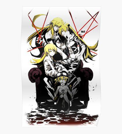 Shinobu Evo x Araragi V2 Poster