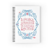 Whimsical Poppins! Spiral Notebook