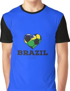 Brazil Soccer  Graphic T-Shirt
