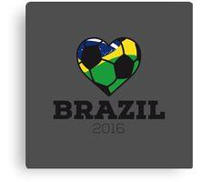 Brazil Soccer  Canvas Print