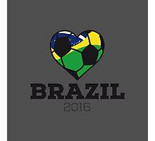 Brazil Soccer  Photographic Print