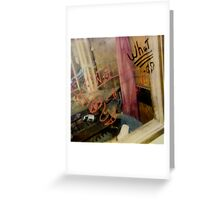 Montage - America Greeting Card