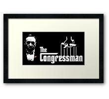 The Congressman Framed Print