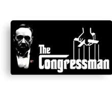 The Congressman Canvas Print