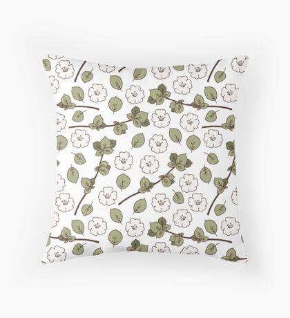Apple Blossom vol.2 Throw Pillow