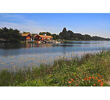 Berkeley Boathouse Photographic Print