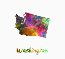 Washington US state in watercolor Unisex T-Shirt