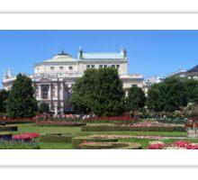 Volksgarten, Vienna Austria Sticker